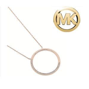 MICHAEL Michael Kors Brilliance Circle Pendant